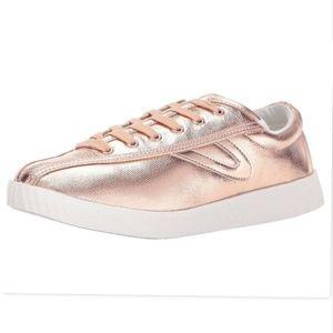 Tretorn Womens Rose Gold Nyliteplus Sneaker